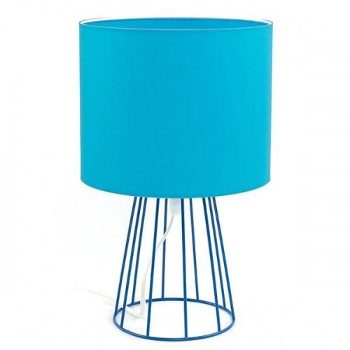Настольная лампа TK Lighting 2890 Sweet голубой 1