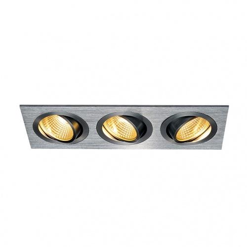 Встраиваемый светодиодный светильник SLV New Tria 3 DL Set 114216