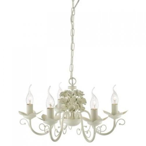 Люстра в стиле флористика Rosarium A1315LM-5WC