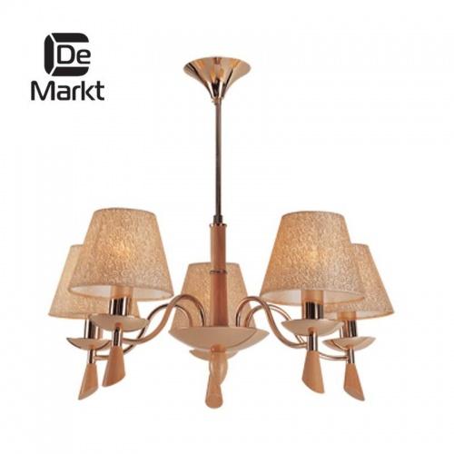 Подвесная люстра De Markt Федерика 344018805