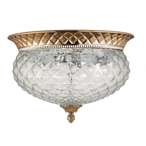 Потолочный светильник Crystal Lux Hola PL4 Gold