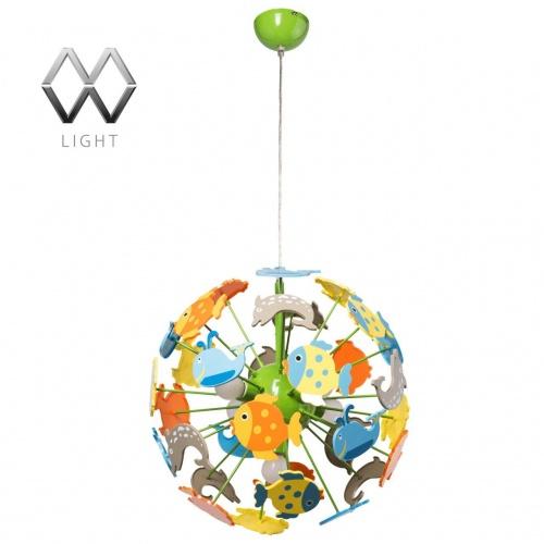 Подвесная люстра MW-Light Улыбка 365014705