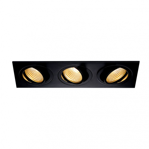 Встраиваемый светодиодный светильник SLV New Tria 3 DL Set 114200