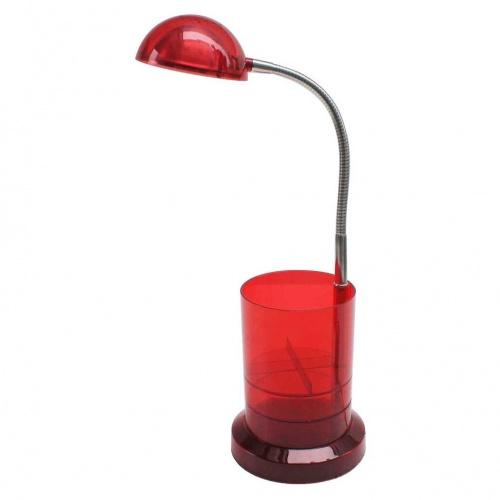Настольная светодиодная лампа Horoz Berna красная 049-006-0003 (HL010)
