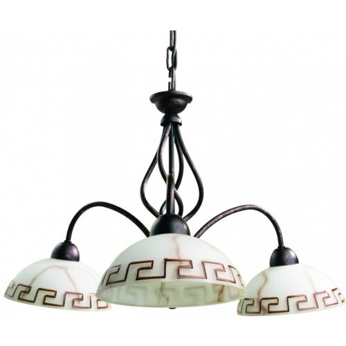 Подвесная люстра Arte Lamp Rustica A6884LM-3BR