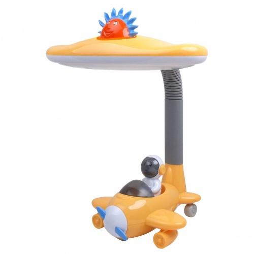 Настольная лампа Horoz желтая 048-008-0011 (HL044)