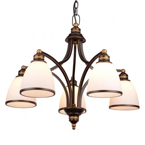 Подвесная люстра Arte Lamp Bonito A9518LM-5BA