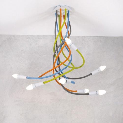 Подвесная люстра Loft IT Roots Loft1714-RGB