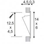 Встраиваемый светодиодный светильник SLV Led Downlight Mini 152072