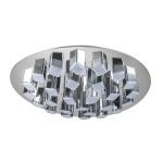 Потолочная светодиодная люстра IDLamp Colosseo 306/27PF-LEDChrome
