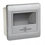 Встраиваемый светодиодный светильник Horoz серебро 079-026-0002