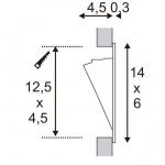 Встраиваемый светодиодный светильник SLV Led Downlight Mini 152070