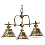 Подвесная люстра Arte Lamp Kensington A1511LM-3PB
