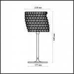 Настольная лампа Odeon Light Astli 2606/1T