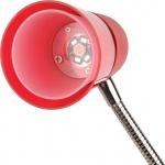 Настольная светодиодная лампа Horoz Buse красная 049-007-0003 (HL013L)