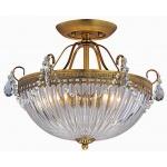 Потолочный светильник Arte Lamp Schelenberg A4410PL-3SR