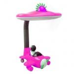 Настольная лампа Horoz розовая 048-008-0011 (HL044)