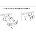 Настенный светильник Odeon Light Osorno 2664/1W