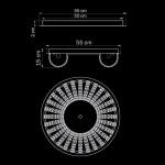 Потолочный светильник Lightstar Onda 741072