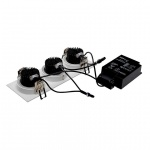 Встраиваемый светодиодный светильник SLV New Tria 3 DL Set 114201