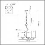 Подвесная люстра Odeon Light Brin 2766/3