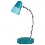 Настольная светодиодная лампа Horoz Buse синяя 049-007-0003 (HL013L)