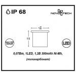 Ландшафтный светильник Novotech Tile 357237