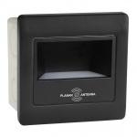 Встраиваемый светодиодный светильник Horoz черный 079-026-0002