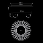 Потолочный светильник Lightstar Onda 741074