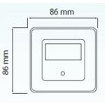 Встраиваемый светодиодный светильник Horoz белый 079-026-0002
