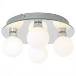 Потолочная люстра Arte Lamp Aqua A4444PL-4CC