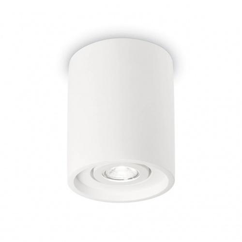 Потолочный светильник Ideal Lux Oak PL1 Round Bianco