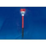 Светильник на солнечных батареях (07410) Uniel Promo USL-C-011/PT365 Red Sparkle