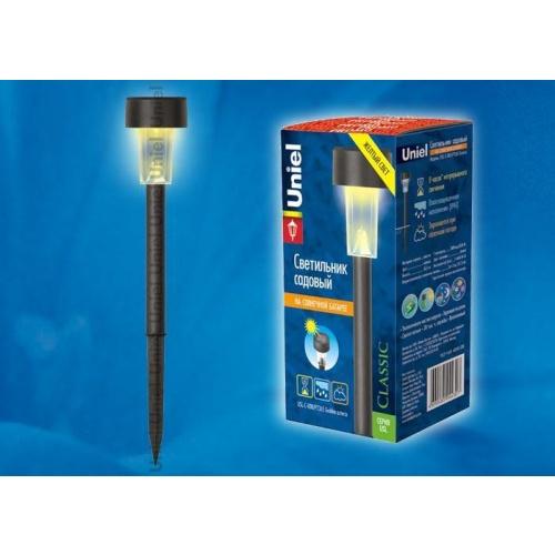 Светильник на солнечных батареях (07290) Uniel Promo USL-C-008/PT365 Golden Asterix