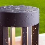 Уличный светодиодный светильник Elektrostandard 1621 Techno LED графит Ares 4690389086106