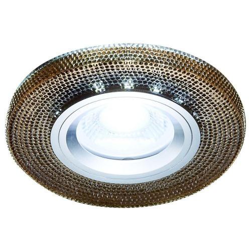 Встраиваемый светодиодный светильник Ambrella light Led S290 BK