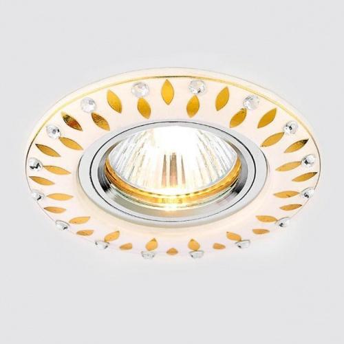 Встраиваемый светильник Ambrella light Desing D5533 W/GD