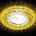 Встраиваемый светодиодный светильник Ambrella light LED S288 GD