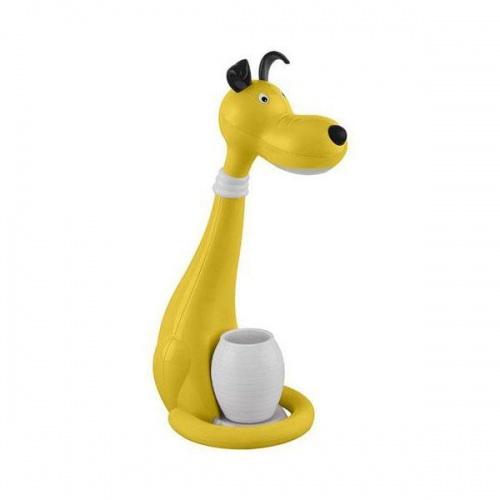 Настольная лампа Horoz Snoopy желтая 049-029-0006