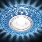 Встраиваемый светодиодный светильник Ambrella light Led S291 BL/WH
