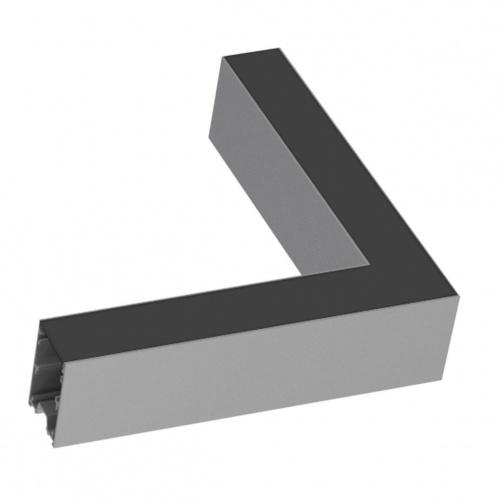 Соединитель угловой Ideal Lux Fluo Corner Blinded Aluminum