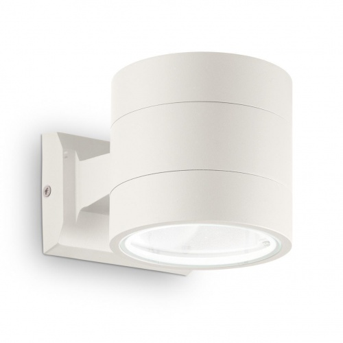 Уличный настенный светильник Ideal Lux Snif Round AP1 Bianco