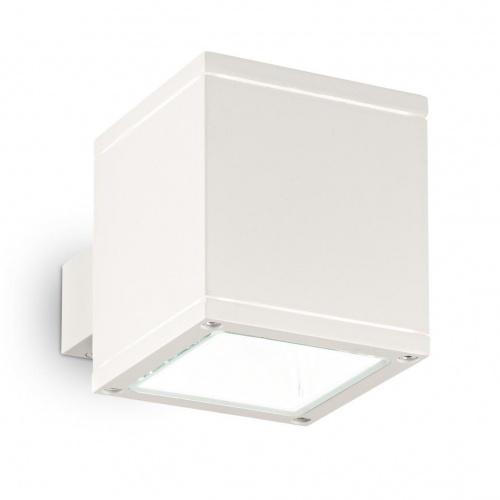 Уличный настенный светильник Ideal Lux Snif Square AP1 Bianco
