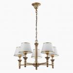 Подвесная люстра Arte Lamp Liguria A9185LM-5SG