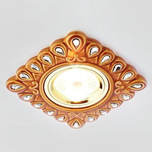 Встраиваемый светильник Ambrella light Desing D5550 SB/CL