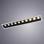 Встраиваемый светодиодный светильник Arte Lamp Grill A3153PL-10BK