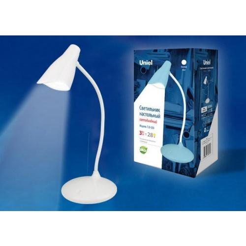 Настольная лампа (UL-00004141) Uniel TLD-559 Ivory/LED/280Lm/5000K/Dimmer